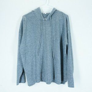 NAP Womens Size Large 100% Cashmere Hooded Sweater